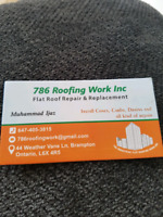 786 ROOFING WORK INC