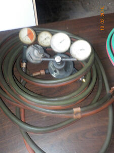 Welding torches, gauges and hoses