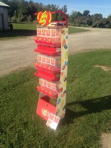 Jelly Belly gourmet jelly bean stand dispenser.
