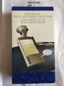 Auto Notes Voice Recorder & Note Pad: Brand New