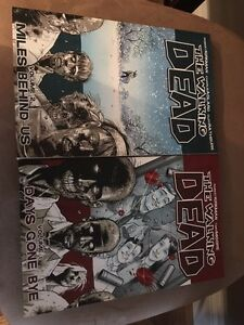 Walking Dead Comics excellent condition V1&2