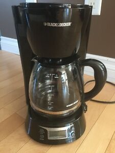 Black and Decker Digital Coffeemaker, 12-Cup