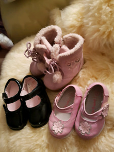 Assorted footwear for infants