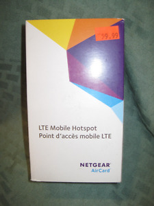 NEW PRICE!!!    LTE MOBILE HOTSPOT NETGEAR AIRCARD 763S