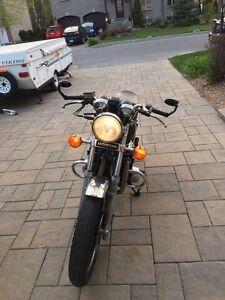 Honda CB 650 custom. Cafe racer