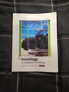 Foundations in Sociology (SOC 112), Second Edition
