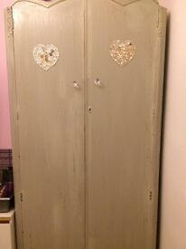 Vintage Mint Green Wardrobe shabby chic