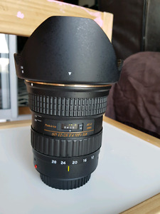 Tokina 12-28mm f/4.0 AT-X Pro APS-C Lens for Canon like new