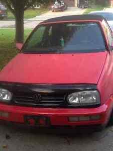 1995 Volkswagen Cabrio Convertible