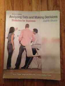 Analyzing Data and Making Decisions 2nd Edition
