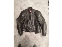 Hein Gericke Leather Motorcycle Jacket - 40 inch chest
