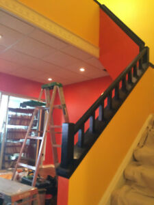 Expert Stairs + Pickets + Treads Painting Spraying Staining $199