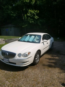 2008 Buick Allure with winter tires and rims