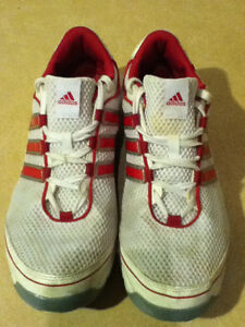 Women's Adidas Pink 3-D Light Weight Running Shoes Size 10 London Ontario image 2
