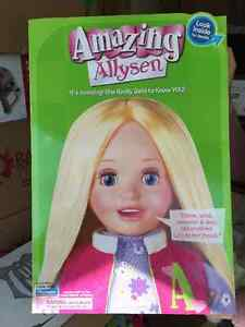 Amazing Allysen Doll, Doll, Talking Doll, collectors, collectors