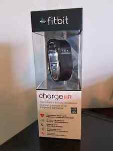 Fitbit Charge HR large black never unopened