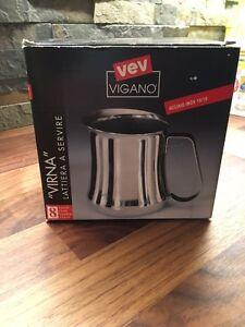 VEV VIGANO stainless steal frothing mug Cambridge Kitchener Area image 4