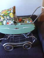 Vintage Gedron Doll Carriage
