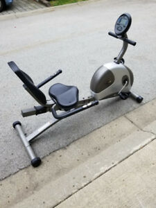 Freespirit 803 recumbent excercise bike