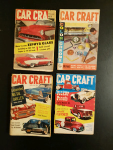 Vintage Car Craft Mini Magazines from the 1950's