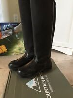 Girls Winter Riding Boots-Size 37