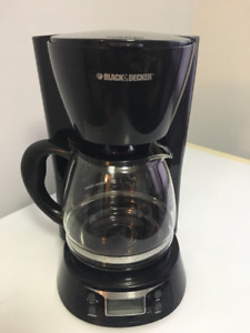 Black and Decker coffee maker great shape. I only use distill wa