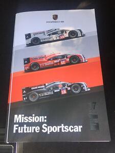 Porsche Le Mans 2015 17 th victory lithograph book