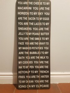 Wall Decor - You are the Macaroni to my Cheese