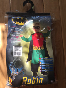 Super cool never worn Robin Halloween costume! (Size 2 - 4Y)