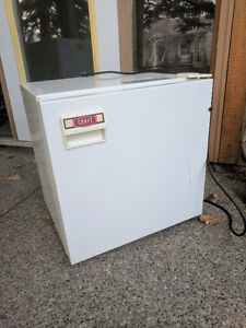 Mini beer fridge, $25