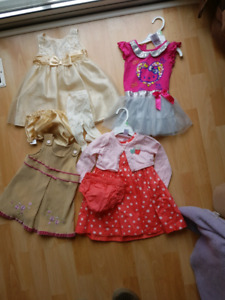 Large lot of 18 month girl clothes