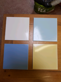 Appox 500 plus Wall tiles 150mm X 150mm various colours