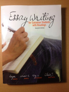 "Textbook - ""Essay Writing - For Canadian Students With Readings"""