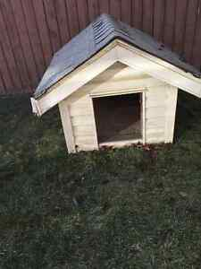 Double insulated large dog house