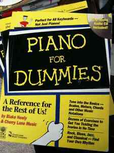 Piano for Dummies by Jon Chappell, Blake Neely COME WITH CD