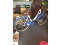 Ladies Viking Bordeaux Hybrid Bike