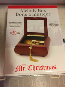 Mr. Christmas Music Box