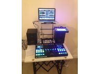 TRAKTOR S5 + NOVATION CIRCUIT+M-AUDIO SPEAKERS