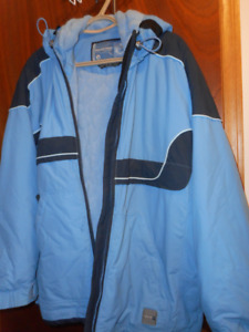 powder room jacket size xl with fitted inside waist band