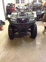 2009 Suzuki King Quad 750 $4000 Taxes In!!!