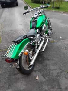 Moto harley-davidson 1978 model fx 1200