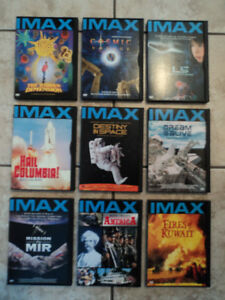 9 DVD IMAX documentaires