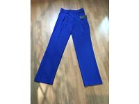 Stunning Electric Blue Zara wide leg trousers