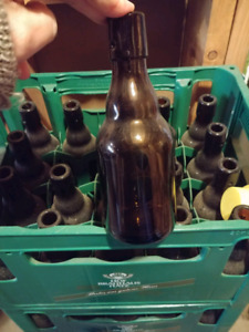 VINTAGE SWING TOP BOTTLES (Great for the home brewer)