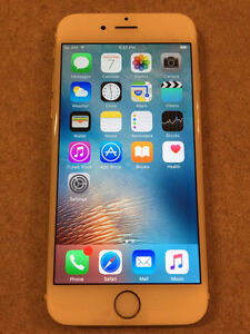 iPhone 6 16GB  (unlocked), Excellent Condition, Gold color