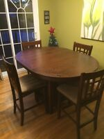 Brand New Pub Style Table Set with 6 Chairs!!!!