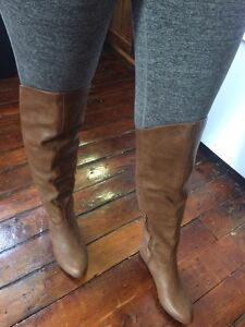 Knee high leather boots from Spring.  Kawartha Lakes Peterborough Area image 2