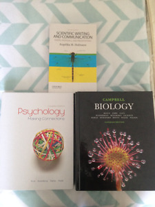 Various Dalhousie First Year Textbooks [EXCELLENT CONDITION]