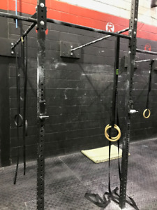 Rigs CROSSFIT (rack a squats) 100% neuf