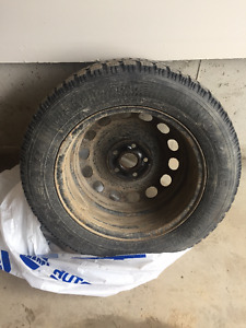 VW Jetta Snow Tires and Rims (Set of 4)